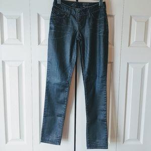 Levis textured curvy skinny dark wash Size 26 x 29